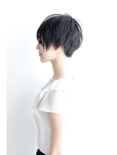 【Third】シンプルショート+ツーブロック