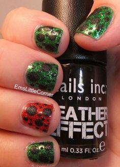 Emma's Little Corner: Glitter and Leather.