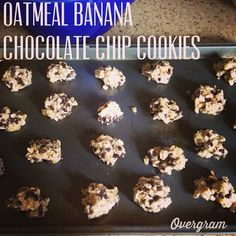So easy and delicious! Both of my toddlers gobbled them up! Banana Oatmeal Chocolate Chip cookies