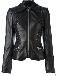 Shop Plein Sud fitted leather jacket in TwentyOne St. Johns Wood from the world's best independent boutiques at farfetch.com. Shop 400 boutiques at one address.