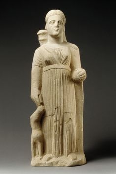 Limestone statue of the goddess Artemis, Cyprus, century BC Greek And Roman Mythology, Greek Gods, Artemis, Ancient Art, Ancient History, Diana, Sacred Feminine, Gods And Goddesses, Ancient Greece