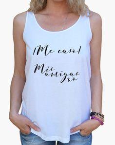 Camiseta para la novia en su despedida de soltera | Camisetas para despedidas de solteras