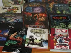 My collection of Tabletop Roleplaying Games.