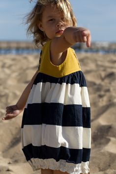 sunshine dress 4695 Patrón vestido niña