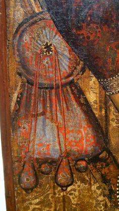 DSCF6697 | by Andrea Carloni (Rimini) Medieval Belt, Medieval Embroidery, Medieval Crafts, Medieval Furniture, Landsknecht, Late Middle Ages, Medieval World, Renaissance Clothing, Textiles