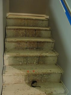 For Instant Beauty... add Elbow Grease: Those Pesky OSB Stairs