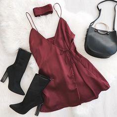 Scarlett Wrap Dress | #SaboSkirt Pops of colours we love ❤️