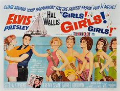 Girls Girls Girls Poster B - This Day in History: Two legends die - 1948: Babe Ruth & 1977: Elvis Presley