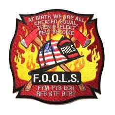 F.O.O.L.S Michigan Fire Patch