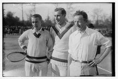 Bill Tilden (center) Photo at Library of Congress