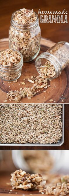 If you've never made your own Homemade Granola, not only will it taste better and fresher than anything you can buy, but you'll make it exactly how you want.