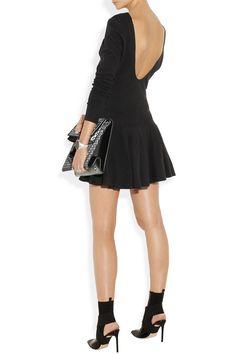 KENZO|Scoop-back ribbed cotton dress|NET-A-PORTER.COM