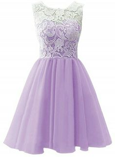 Lilac bridesmaid dress!