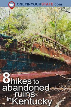 Travel Kentucky Attractions Adventure Outdoors Nature State Parks Abandoned Places Ruins Scenic Hikes Day Trips Places To Visit USA Hiking Trails Hikes USA Kentucky Parks Cheap Places To Travel, Camping Places, Vacation Places, Places To Visit, Camping Gear, Vacation Ideas, Vacations, Camping Trailers, Backpacking Tips