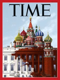 Time magazine cover shows Trump's White House transforming into the Kremlin - Business Insider