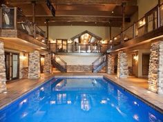 Would love to have an inside pool