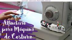 Aprenda a fazer um Alfineteiro para máquina de costura! Última parte da Serie de Decor Funcional do cantinho de costurar! Outros Vídeos da Série: Capa para A...