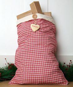 personalised alpine santa sack by santa sacks | notonthehighstreet.com