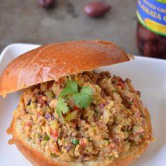 Mediterranean Chickpea Salad Sandwiches