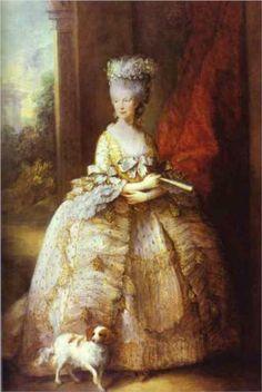 Queen Charlotte, 1781 T.G.