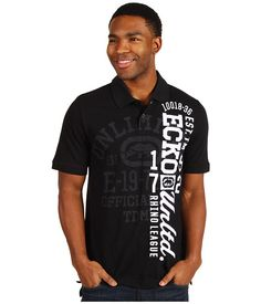 Ecko Unltd Big Part Polo Polo T Shirt Design, Light Vs Dark, Polo T Shirts, Urban Outfits, Aeropostale, Hollister, Maine, Shirt Designs, Mens Fashion