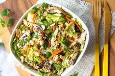 8 Chinese Food Recipes That Are BETTER Than Takeout #refinery29  http://www.refinery29.com/chinese-food-recipes#slide-8  Chinese Chicken SaladThis salad is a super-healthy and tasty alternative to that tired takeout box. ...