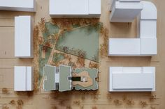 UP 1200 architecture model by Make Models | solid timber, foam, paper, cardboard, acrylic