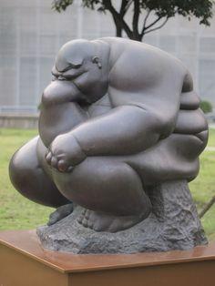 Fat Thinker, Shanghai Sculpture Space by HeyItsWilliam, via Flickr