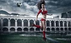 El sexy calendario de la Copa Mundial Brasil 2014
