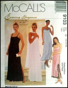 McCall's 9103  Misses' Lined Dress in Two by ThePatternShopp, $7.00