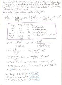 Ejercicio resuelto PAU Química de Canarias. Año 2012-13, propuesta I, ejercicio 4. Equilibrio Química, parte 1.