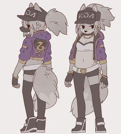 Yagi the Goat — Akali from K/DA's music video Furry Pics, Furry Art, Akali League Of Legends, Dibujos Cute, Anime Furry, Furry Drawing, Anthro Furry, Cute Anime Couples, Character Illustration