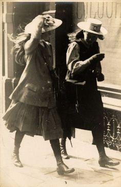 """detournementsmineurs: """" St Albans Road, South Kensington, London, Great Britain, 1907. """""""