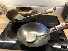 How to Season a Carbon Steel Wok - Seasoned Wok & Unseasoned Wok Churros, Electric Wok, Carbon Steel Wok, Best Cooker, Best Wok, Cooking Appliances, Cast Iron Cooking, Glass Ceramic, Tea Towels