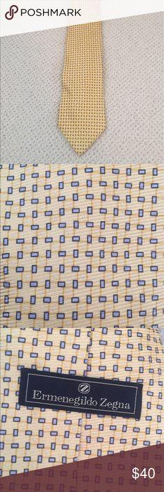 Ermenegildo Zegna Silk Tie Men's Italian Xlong Silk tie, 100% silk, Ermenegildo Zegna Accessories Ties