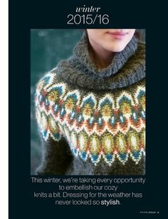 "Photo from album ""Vogue knitting winter 2015 on Yandex. Beau Site, Vogue Knitting, Heart Patterns, Knit Crochet, Dressing, Stylish, Winter, Album, Yandex Disk"