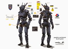 Chappie Concept Art - part 1!