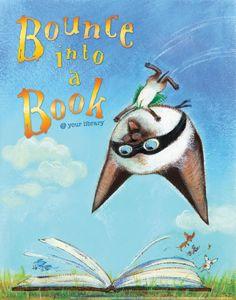 Skippyjon Jones Poster - Products for Children - Posters - I Love Libraries - ALA Store