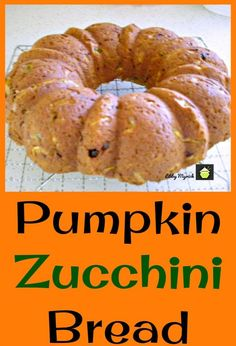 Pumpkin Zucchini Bread, An easy recipe with fabulous aromas and great tasting. Freezer friendly and a perfect way to enjoy zucchini! - Pumpkin Zucchini Bread, An easy recipe with fabulous aromas and great tasting. Freezer friendly and - Crumpets, Pumpkin Zucchini Bread, Cheese Pumpkin, Pumpkin Recipes Healthy Easy, Zucchini Bread Muffins, Zucchini Loaf, Chocolate Zucchini Bread, Fall Recipes, Holiday Recipes