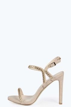 Jess Chain Trim Barely There Heels. Get unbelievable discounts up to 60%  Off at · Online DiscountShoes OnlineCoupon CodesBoohoo.