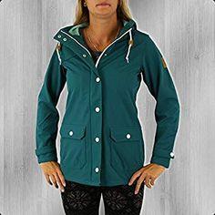 Derbe Softshell Jacke Frauen Peninsula dragonfly pool blue - 44: Amazon.de: Bekleidung Lockers, Raincoat, Amazon, Blue, Fashion, Clothing, Rain Jacket, Moda, Amazons