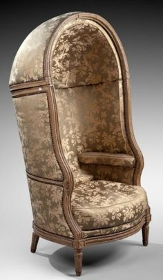 Porters chair via Titillating Tidbits About the Life and Times of Marie Antoinette: Tuesdays Tititllating Treasure: The Guérite