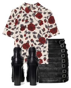 """Untitled #1530"" by milesofsmiles12345 ❤ liked on Polyvore featuring Gucci, Ganni and Zara"
