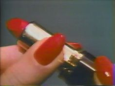 perfect red nails. perfect red lipstick.