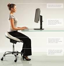 Ergonomic Orthopaedic Posture Saddle Chair This saddle stool with