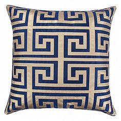 """Mykonos Pillow 24""""   Pillows   Bedding and Pillows   Z Gallerie"""