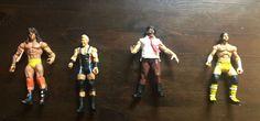 LOOSE WWE CM PUNK DEFINING ULTIMATE WARRIOR SWAGGER MANKIND FIGURE MATTEL JAKKS #jakksmattel