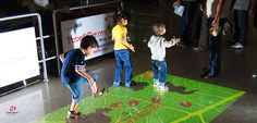 interactive floor for Clubs and children's play-areas Why you should get interactive floor projector for your kids, With interactive floor projector games you can change the life for your kids from all life aspects, interactive games, and live systems Interactive Exhibition, Interactive Display, Interactive Installation, Interactive Design, Interactive Projection, Interactive Presentation, Interactive Learning, Indoor Play Centre, Tecnologia