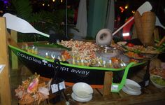 Boat full of #seafood! | Couples Swept Away Anniversary Party October '12