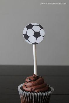 Plantillas gratis para imprimir de copa mundial de fútbol. #FiestaTematicaFutbol